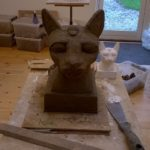 Modellering - Egyptisk kat